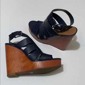 Lucky Brand Ravinna Wedge Heel Sandals